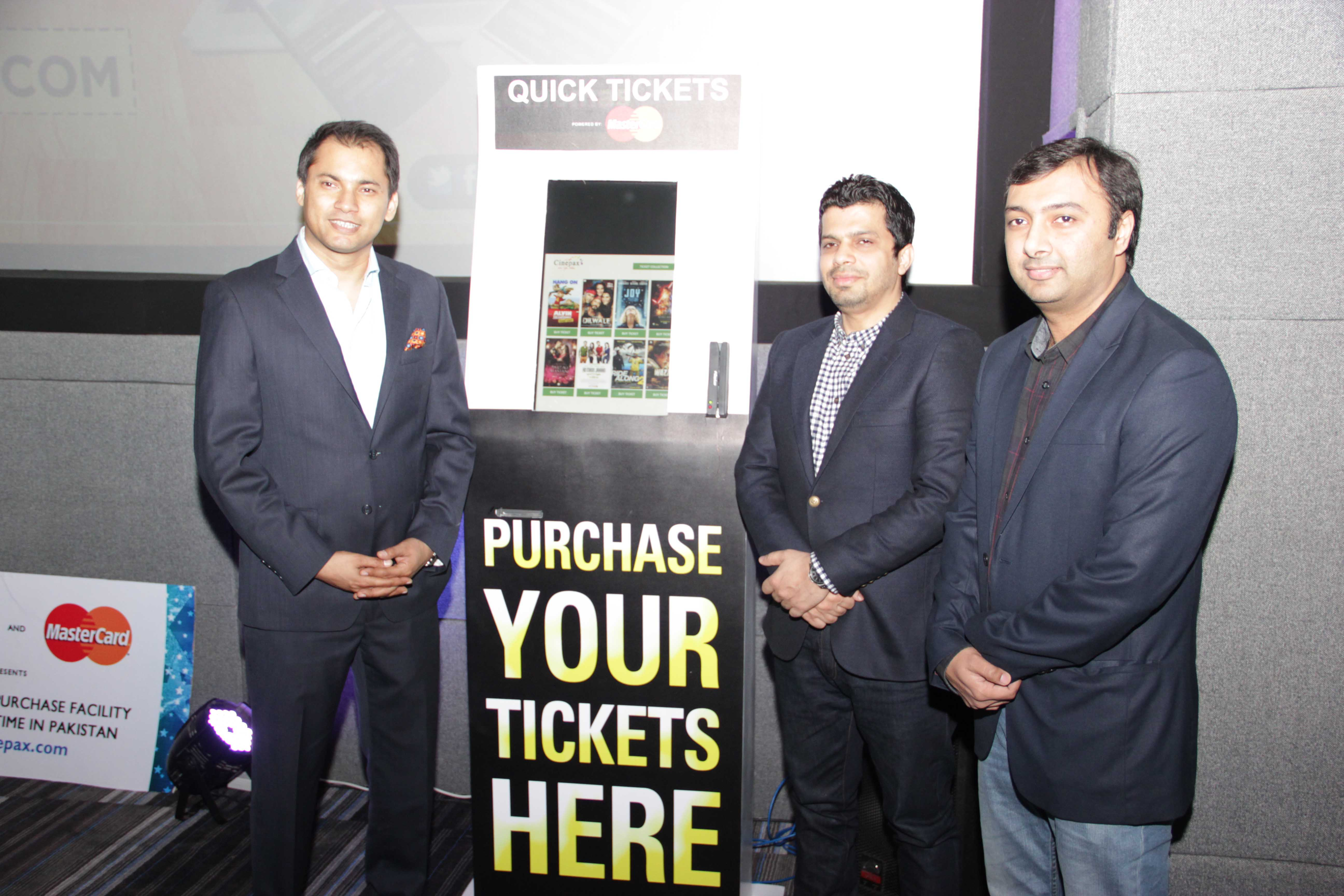Launch of the Cinepax Cinemas Website