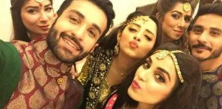 Maya Ali, Sanam Choudhary, Azfar Rehman at Wedding