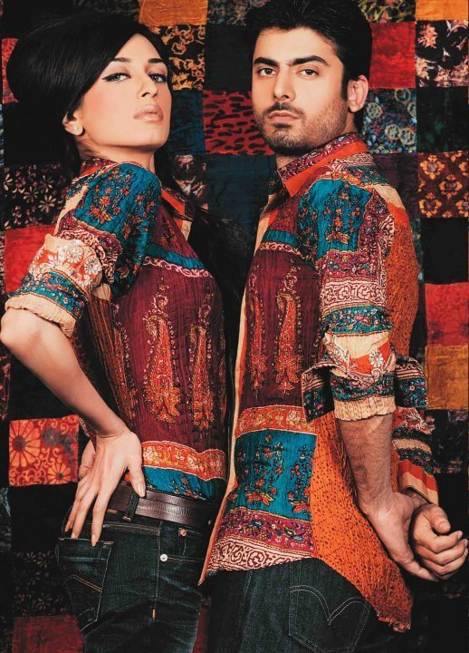 Iman Ali in an Old Photoshoot with Fawad Khan