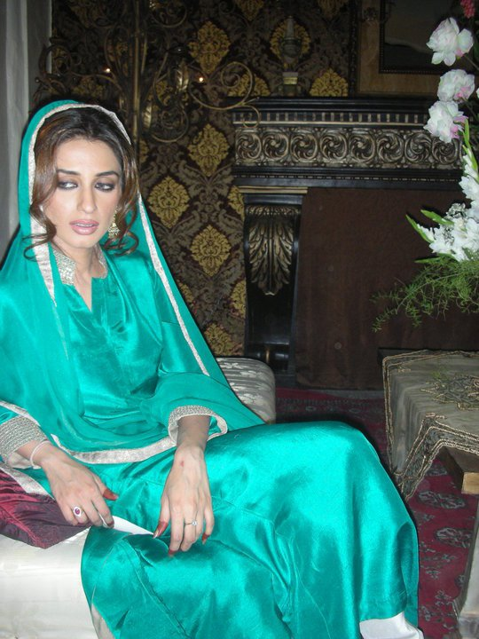 Iman Ali on the Sets of Bol Movie