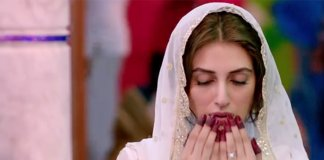 Iman Ali on the sets of Mah-e-Mir