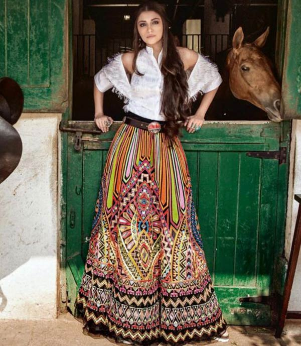 Anushka Sharma in the coolest cowgirl avatar