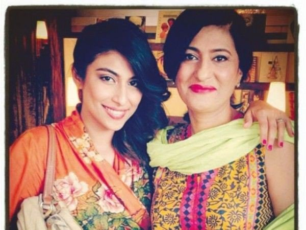 Pakistani Celebrities with Mother