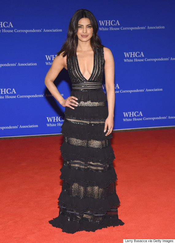 WASHINGTON, DC - APRIL 30: Actress Priyanka Chopra attends the 102nd White House Correspondents' Association Dinner on April 30, 2016 in Washington, DC.
