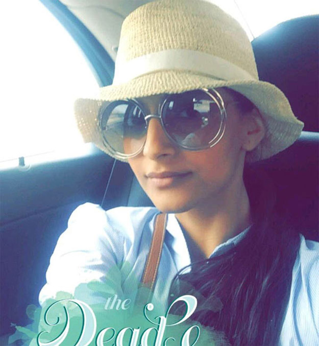 Shades game strong, Sonam visits the Dead Sea.