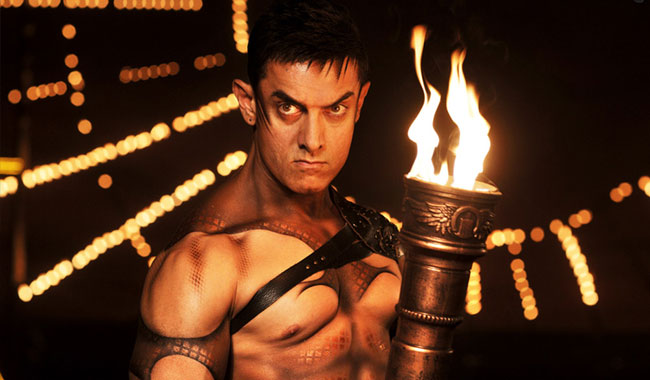 10 Times Aamir Khan Proved That He Is Truly A ... Aamir Khan In Dhoom 3 Sets