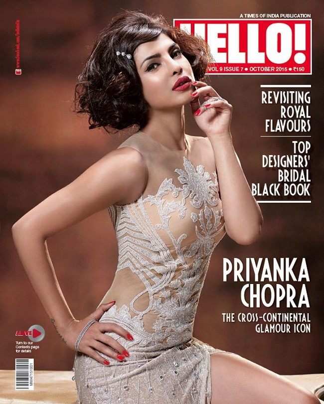 Priyanka-Chopra-on-Hello-Magazine-Cover