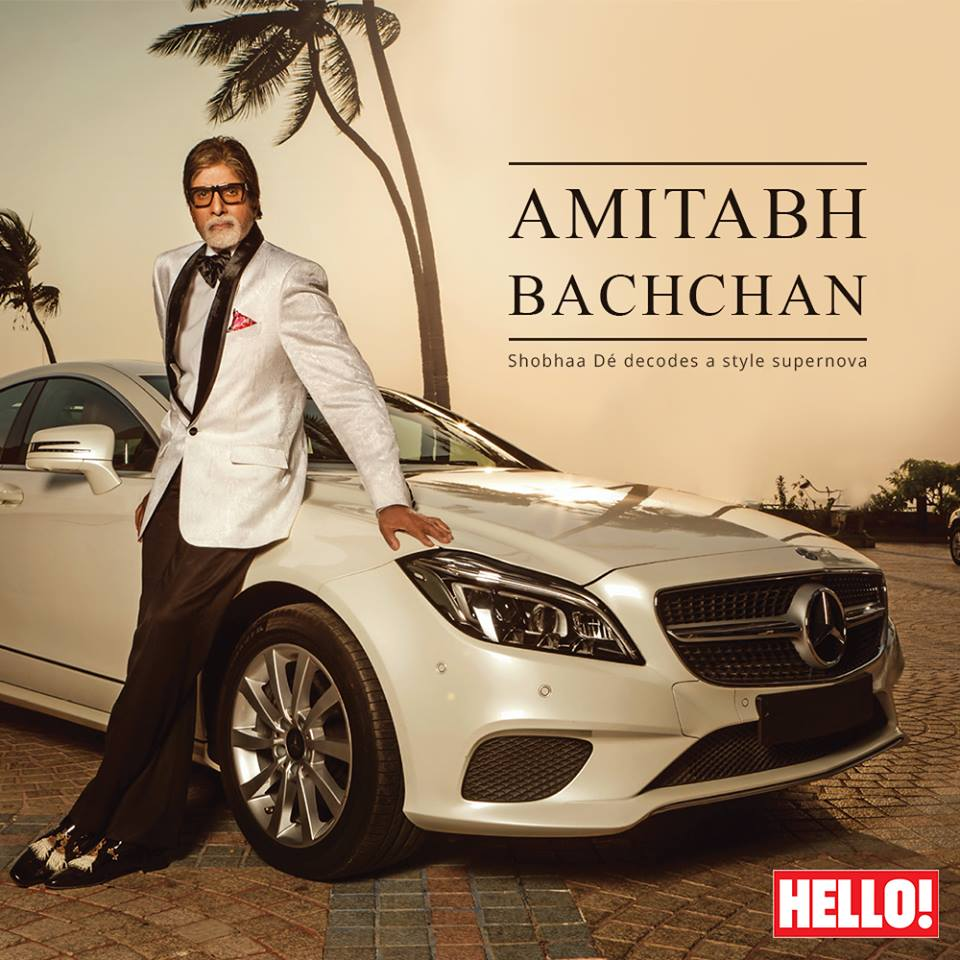 Amitabh Bachchan Makes It To 'India's 50 Most Stylish List'!