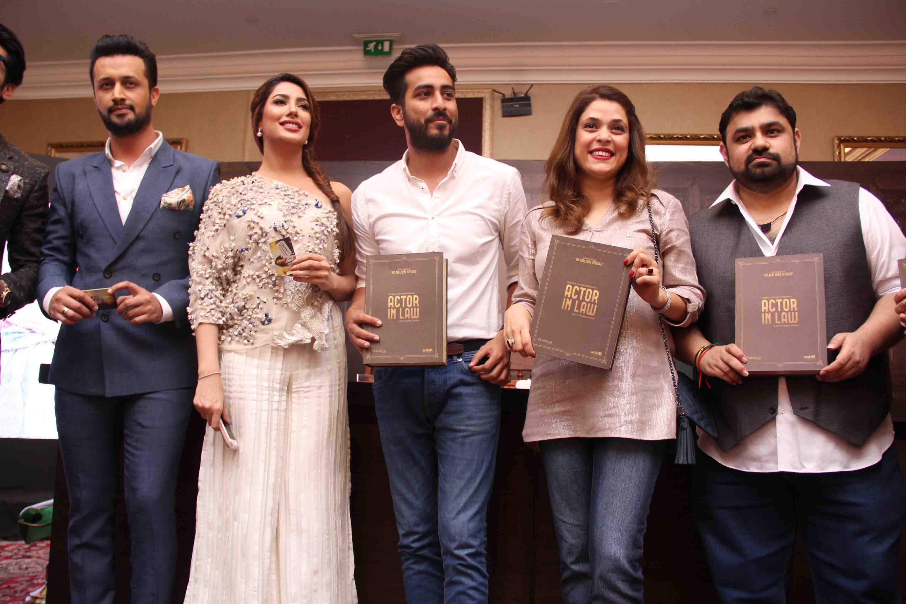 Atif Aslam Launches The Soundtrack For Actor In Law Movie