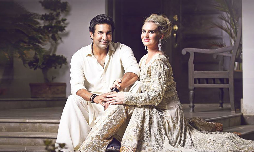 Former Stani Cricketer Wasim Akram And His Wife Shaniera Akrma Will Star In The Upcoming Music Video Of Junoon Band S Renowned Singer Salman Ahmed