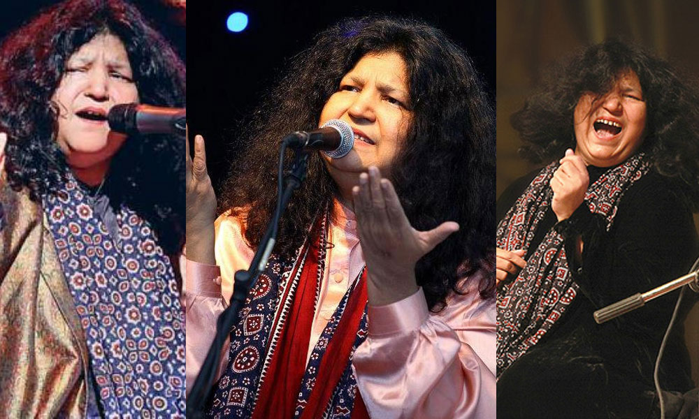 Who Isnt A Fan Of Queen Sufi Music Abida Parveen The Maestrois Set To Release New Song On Year Eve Exclusively Taazi