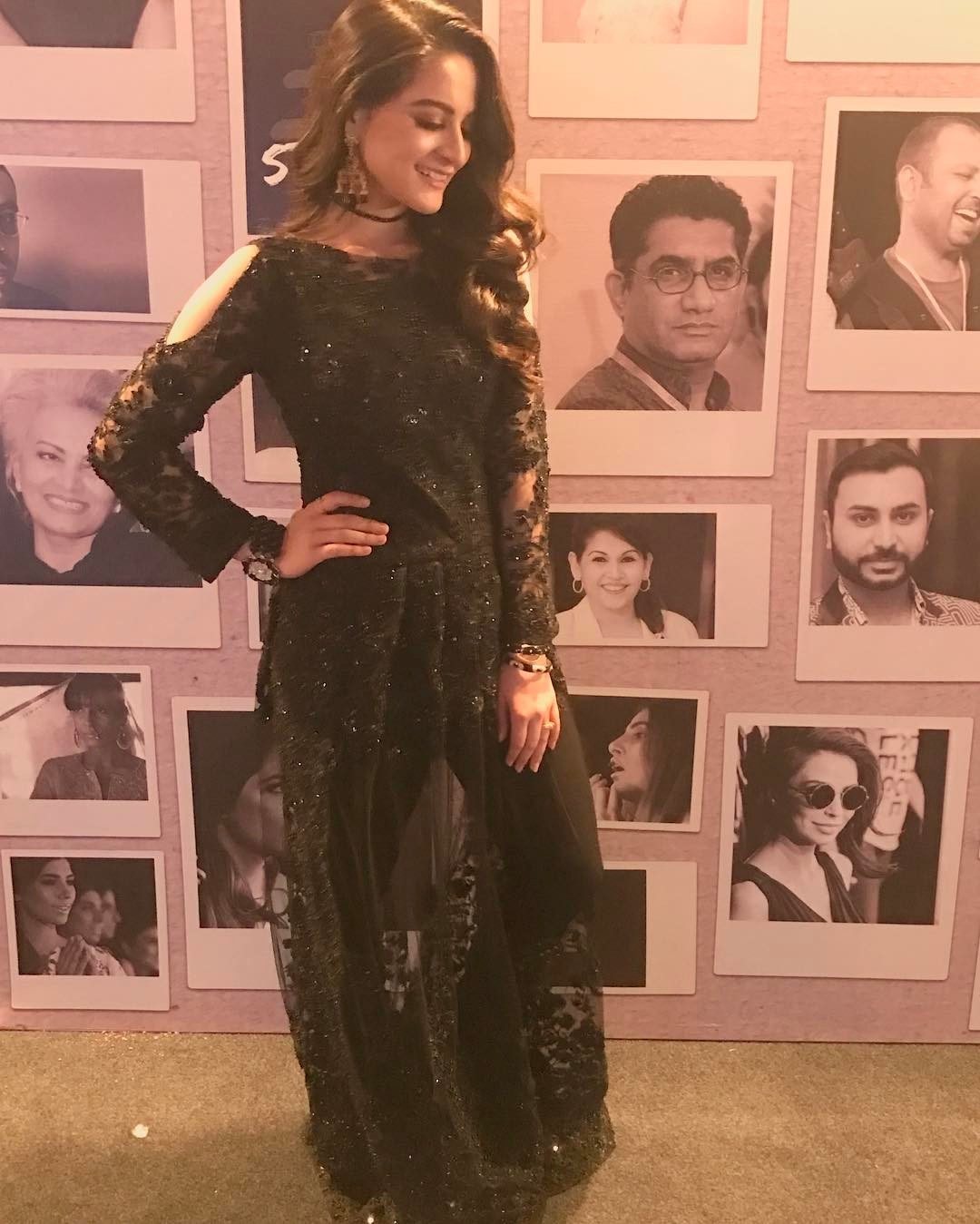 aiman khan muneeb butt pakistan fashion week 2017 (2)