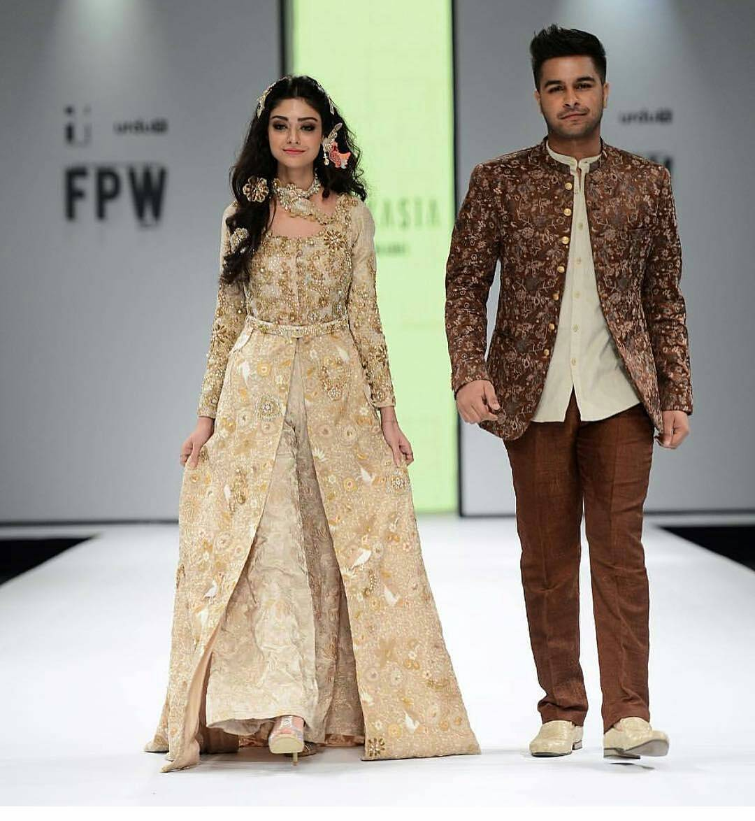 noor khan asim azhar fashion pakistan week 2017