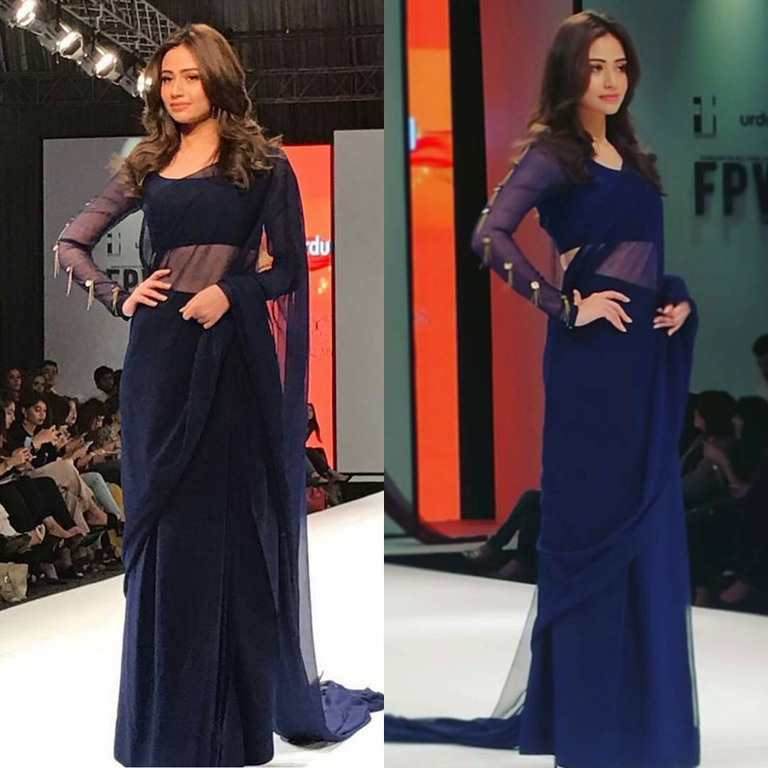 sana javed pakistan fashion week 2017