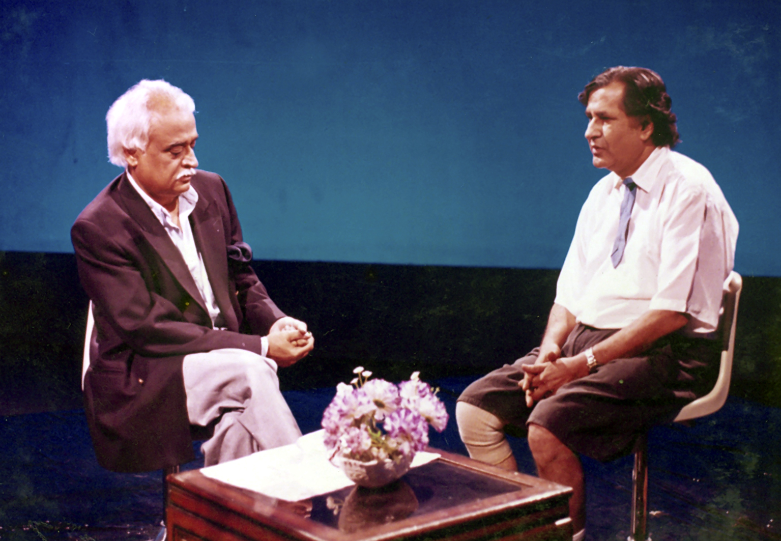 Anwar Maqsood and Latif Kapadia