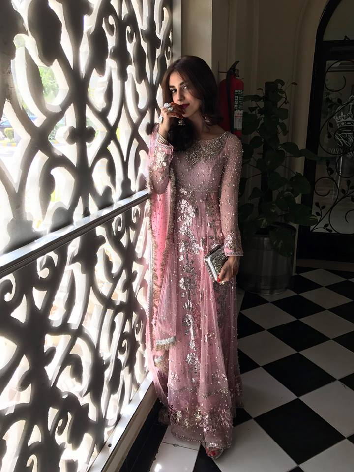 Maya Ali Stuns at Brother's Nikah (2)