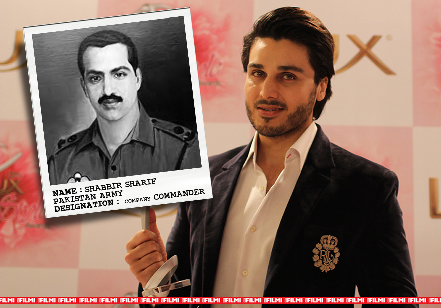 ahsan khan as SHABBIR SHARIF