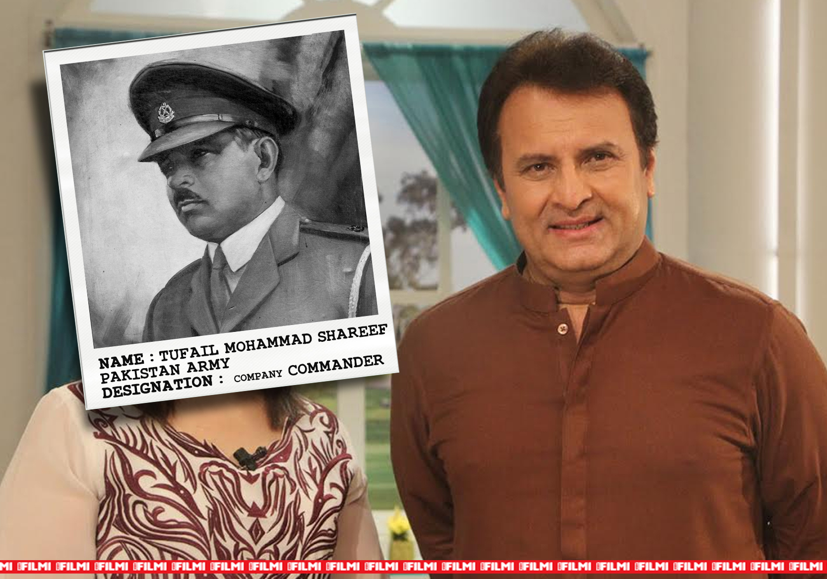 behroz subzwari as TUFAIL M SHARIF