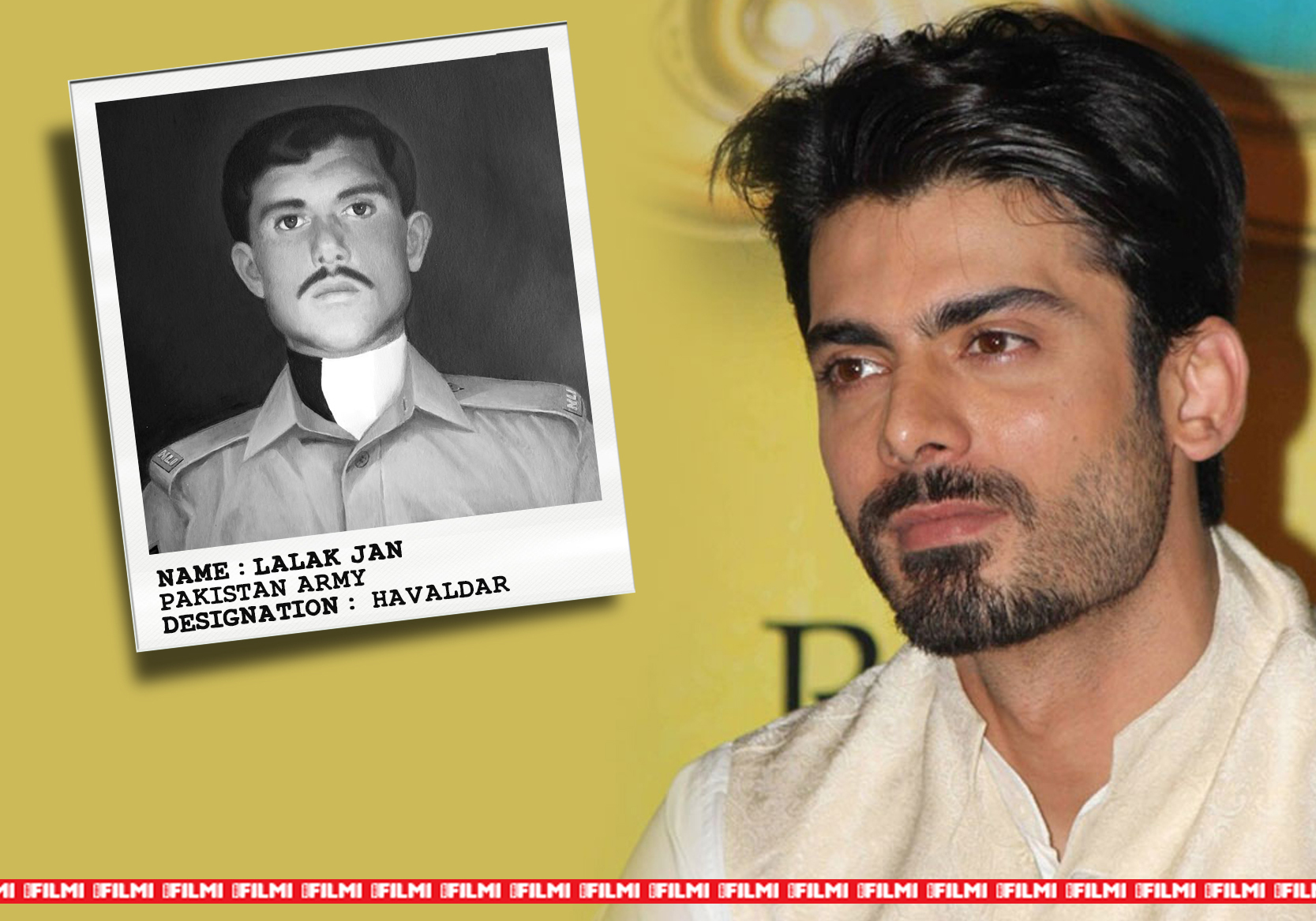 fawad khan as LALAK JAN