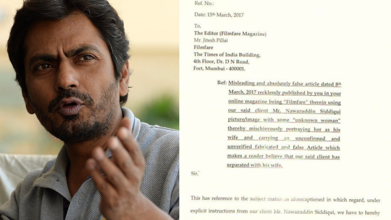 nawazuddin notice to filmfare