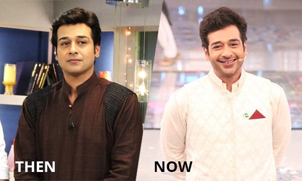 pakistani celebrities then and now faysal quraishi