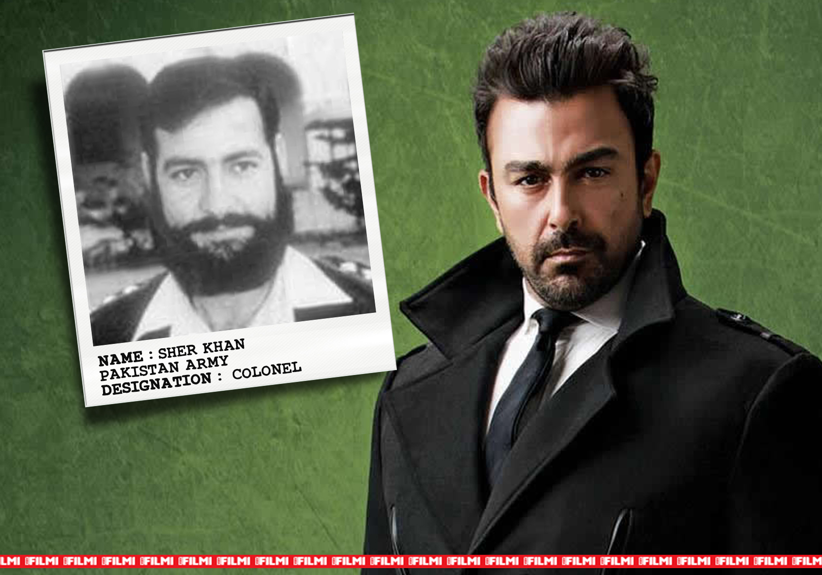 shaan shahid as SHER KHAN