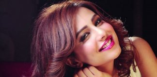 Ushna Shah Photo shoot BTS