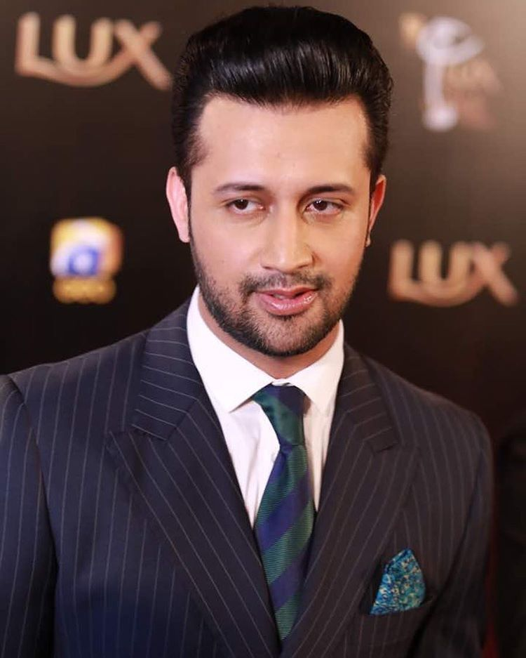 atif aslam lux style awards 2017 red carpet 1