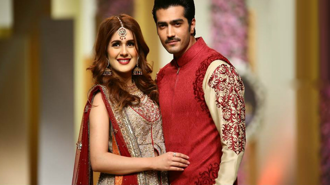 kubra khan shehzad sheikh bridal couture week 2017