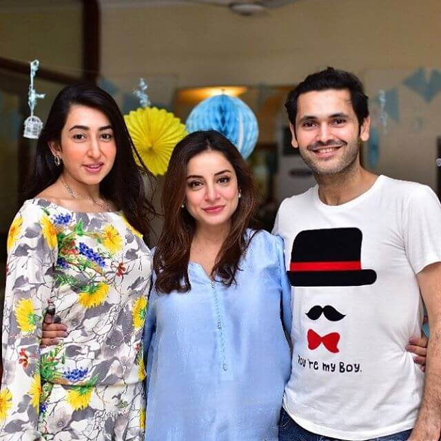 sarwat gillani fahad mirza baby shower pictures