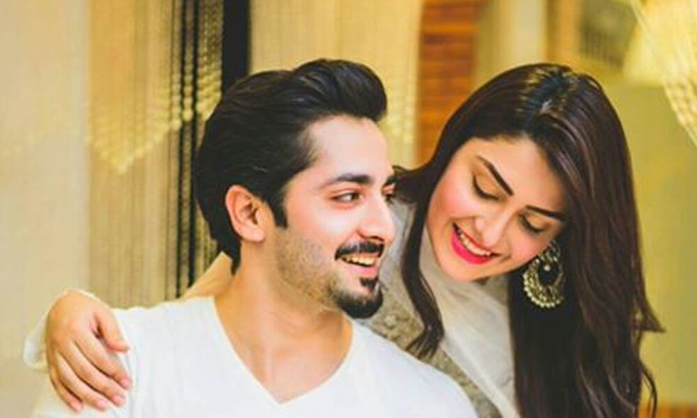 Image result for Ayeza Khan and Danish Taimoor 1000 x 600