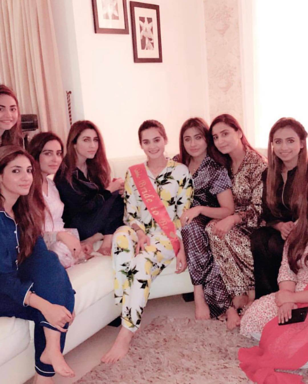 Aiman Khan's Bridal Shower