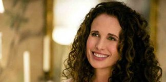 Andie Macdowell in Four Weddings And A Funeral
