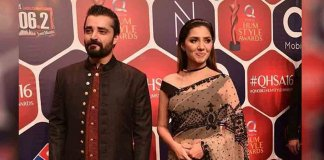 Mahira Khan and Hamza Ali Abbasi
