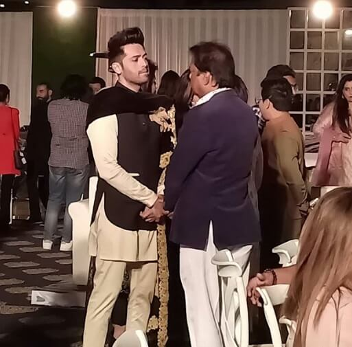 Atif Hussain's Son Engagement1
