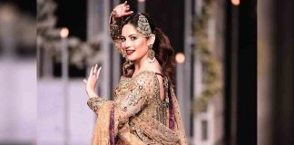 neelam muneer dance on ramp