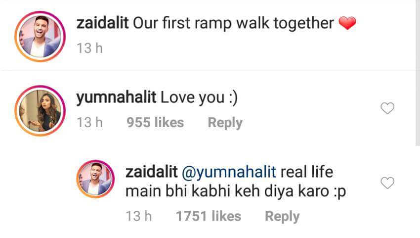zaid ali trolls his wife