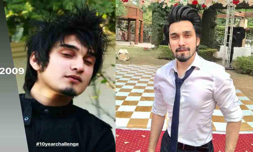 Pakistani Celebrities 10-Year Challenge