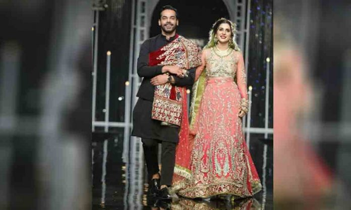 gohar rasheed and kubra khan laal