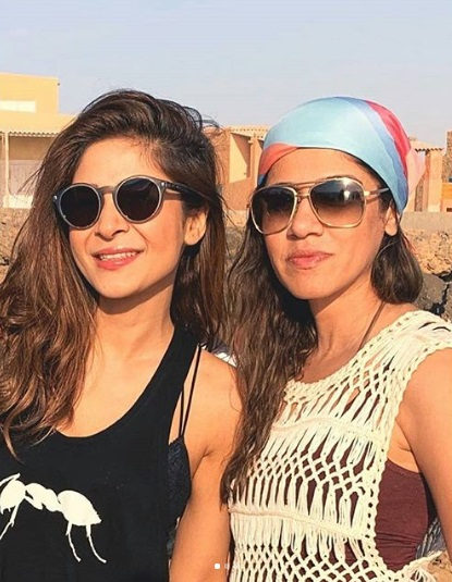 pakistani celebrities on beach