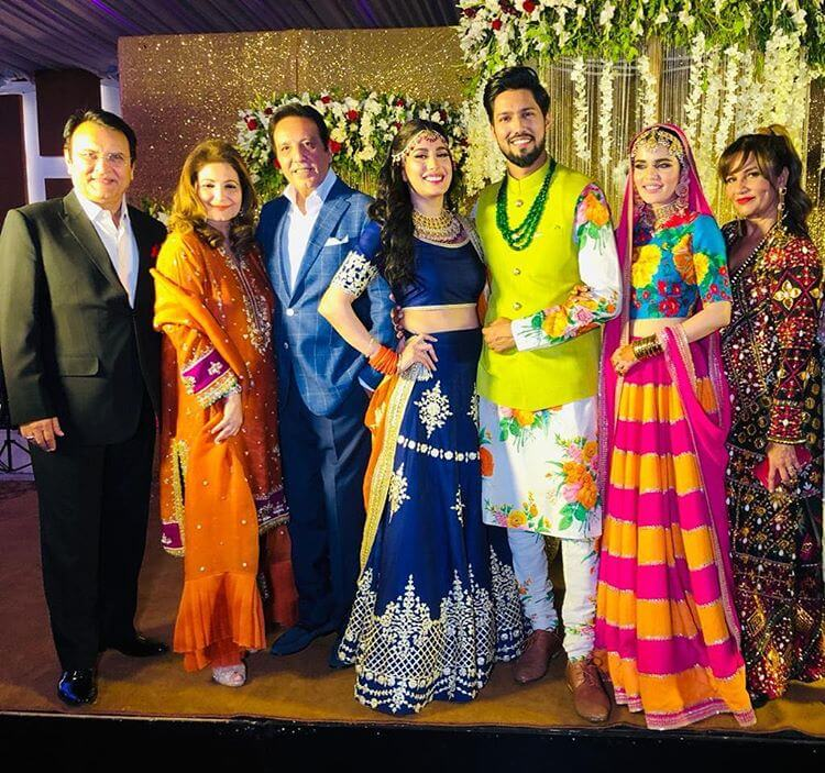 mehwish hayat brother wedding