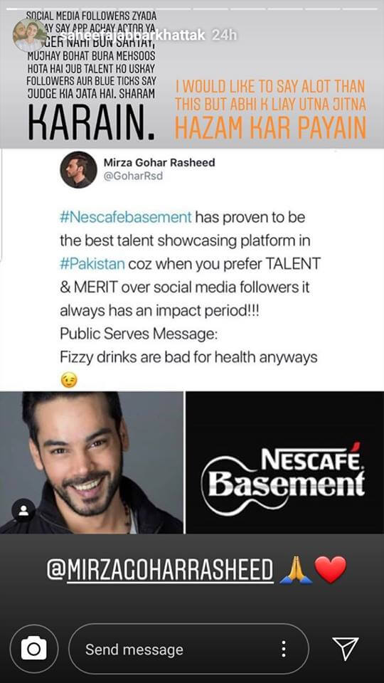 saheefa Jabbar an Gohar rasheed on coke studio