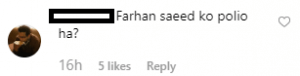 farhan saeed trolled