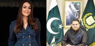 fawad hussain on preity zinta