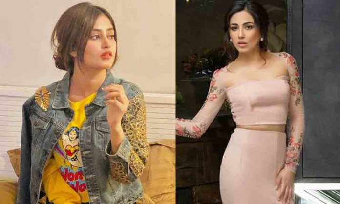 omayr waqar on ushna shah and sajal aly