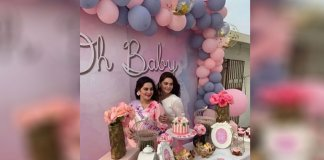 aiman khan baby shower
