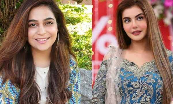 Nida Yasir and Kanwal